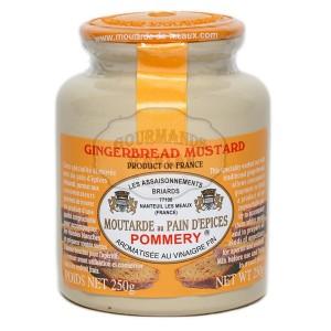 Moutarde au pain d'épices Pommery® - Les Assaisonnements Briards 250g