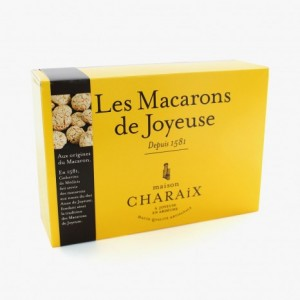 Macarons de Joyeuse - Boite carton 300g - Maison Charaix