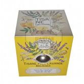 Tisane Miel & Lavande Bio Provence d'Antan - Boîte Cube métal