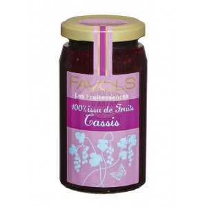 Confiture 100% Cassis - Favols 250g