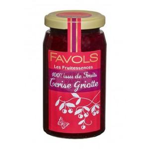 Confiture 100% Cerise Griotte - Favols 250g