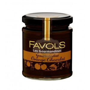 Gourmandise Orange Chocolat (Pâte à tartiner) - Favols 220g