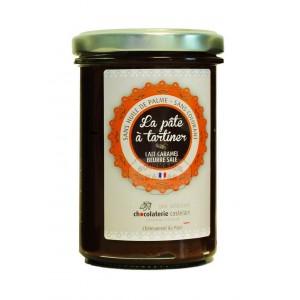 Pâte à tartiner lait & Caramel au beurre salé - Castelain 240g
