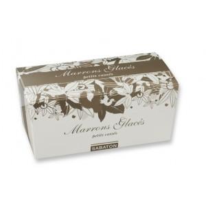 Marrons glacés (Petits cassés) d'Ardèche Sabaton - Ballotin 750g