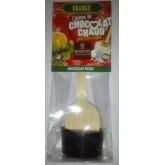 Cuillère chocolat chaud Noël NOIR/ORANGE