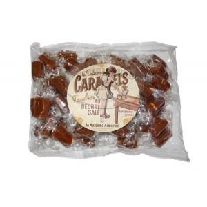 Caramels tendres au beurre salé RECHARGE - Sachet coussin 1Kg