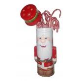 Boite Père Noël - Sucres d'orge canne