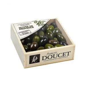 Olive de provence Coffret Bois - François Doucet 200g