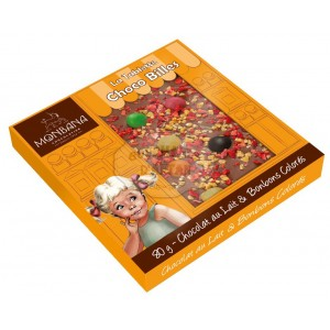 Monbana Mini tablette Choco Billes - 80g