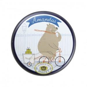 Amandas boîte Ours - Mazet 65g