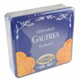 Véritable Gaufre pur Beurre La Dunkerquoise - Boite carré en métal 700g
