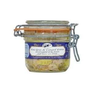 Foie Gras de Canard entier Assaisonné à la main - Elisabeth Patignac 180g