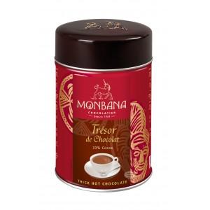 """Monbana Chocolat en poudre onctueux """"Trésor de Chocolat"""" - Boîte 250g"""