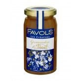 Confiture Gourmandise de Noël - Favols 270g