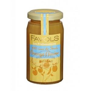 Confiture 100% Orange Amère - Favols 250g