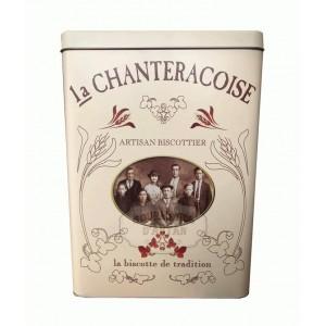 Biscottes « L'Authentique » Boite fer Collector Famille - La Chanteracoise.