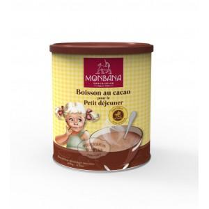 Monbana Boisson au cacao pour le petit déjeuner - 500g