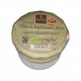 Véritable pâte à tartiner BIO Bovetti AMANDES  - Chocolat NOIR 350g