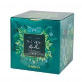 Thé Vert à la Menthe Bio Plant'Asia - Boite cube métal 48g