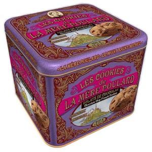 Cookies ECLATS DE CHOCOLAT - La Mère Poulard Coffret Collector - 400g