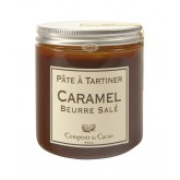 Pâte à tartiner Caramel au beurre salé Comptoir du cacao - 280g