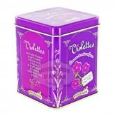 Violettes - Bonbon à la Violette Verquin - Boite métal 300g