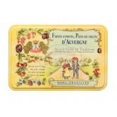 Pâtes de fruits d'Auvergne Cruzilles - Demi-Boîte fer 330g