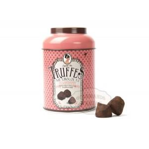 Truffes au chocolat  Assortiment - Boite métal 165g