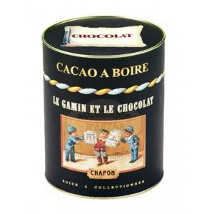 Cacao nature en poudre Chapon - Boite ronde 250 g
