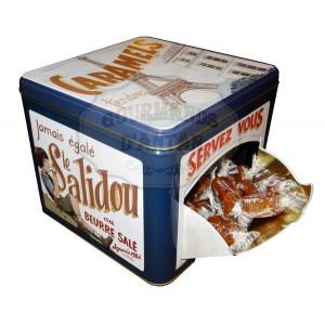 """""""Servez-vous"""" PARIS Boite Collector - Caramels tendres au beurre salé - 500g"""