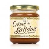 Salidou, Crème de Caramel au beurre salé - Maison d'Armorine 220g
