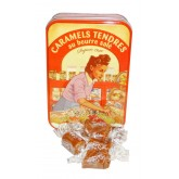 Caramels tendres au beurre salé - Boite fer collector 150g