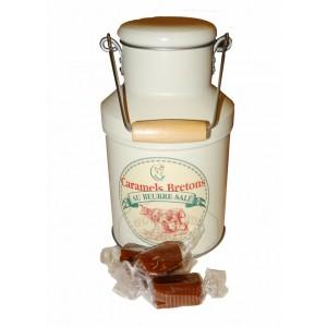 Caramels tendres au beurre salé - Pot à lait Laitière 200g