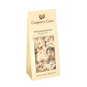 Croustines blanches noix de coco  - Comptoir du cacao 100g
