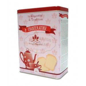 Biscottes « L'Authentique » Boite fer Années 50 - La Chanteracoise.