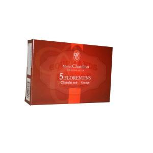 Florentins Chocolat Noir & Orange Chatillon - mini étui (x5) - 30g