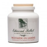 Moutarde de Dijon en grains Pot en grès 250g - Fallot