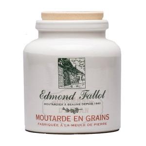 Moutarde de Dijon en GRAIN - Pot en grès 250g - Fallot