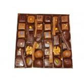 Chocolats (assortiments de bonbons) Boite luxe fantaisie - 400g