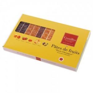 96 pâtes de fruits d'Auvergne assorties Cruzilles - 1kg