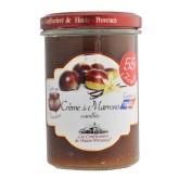 """Confiture Crème de Châtaigne vanillée """"Les Confituriers de Haute-Provence""""  370g"""