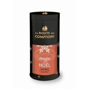 Rooïbos BIO (épices, agrumes, fleurs, fruits) - Magie de Noël - La Route des Comptoirs