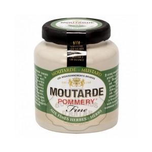 Moutarde aux Fines Herbes Pommery® - Les Assaisonnements Briards 100g