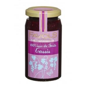 Confiture 100% Cassis - Favols 250g