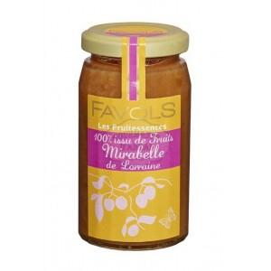 Confiture 100% Mirabelle de Lorraine - Favols 250g