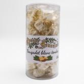 Nougat Blanc TENDRE (papillotes) - Boite de 200g - Nougat Jonquier