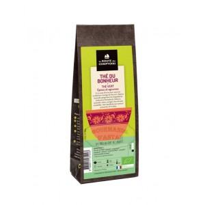 Thé vert BIO (épices, agrumes) - Thé du bonheur - La Route des Comptoirs