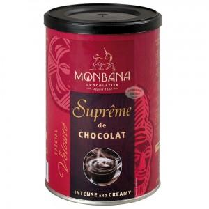 Monbana Chocolat en poudre à l'italienne Suprême de Chocolat - Boîte 250g