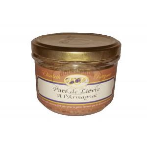 Paté de Lièvre à l'Armagnac - Elisabeth Patignac 180g