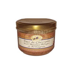 Paté de Chevreuil aux airelles rouges et à l'Armagnac  - Elisabeth Patignac 180g